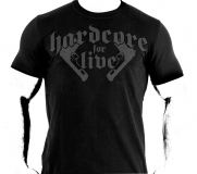 T-Shirt Hardcore for live