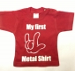 My first Metal Shirt - Babyshirt